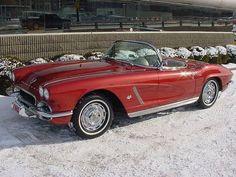 Tagg Holland's 1962 Honduras Maroon Corvette Convertible