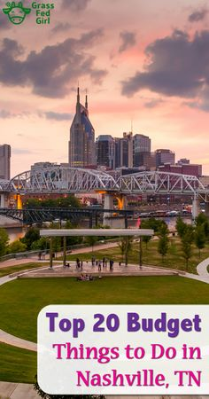 Top 20 Budget or Free Things to Do in Nashville TN are included in this article by Grass Fed Girl. Nashville Vacation, Tennessee Vacation, Nashville Tennessee, Nashville Things To Do, Visit Nashville, East Tennessee, Nashville Must Do, Nashville Hiking, Girls Trip Nashville