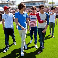 1d at a soccer game