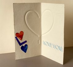 Valentine's Day Card by Ron King.