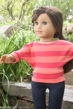 free pattern - Doll It Up More