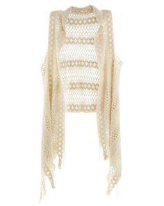 Denise Open Knit Vest Kimono