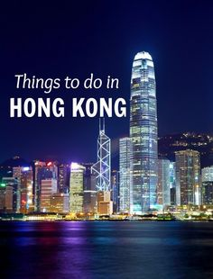 Things to do in Hong