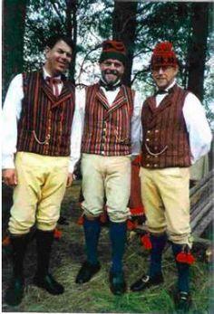 Nåsdräkten. Swedish traditional costume.
