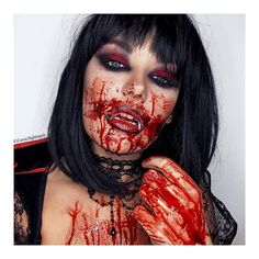 Day 20 - Vampire . . . . #creepymakeup #fancydress #cosplay #costume #facepaint #bodypaint #specialfxmakeup #bloodandgore #halloween #halloween2017 #halloweenideas #halloweenmakeup #31daysofhalloween #muauk #vampire #vampiremakeup #sexyvampire #classicvampire Bloody Halloween, Halloween Inspo, Sexy Halloween Costumes, Halloween Makeup Looks, Halloween Make Up, Scary Halloween, Halloween Party, Creepy Makeup, Clown Makeup