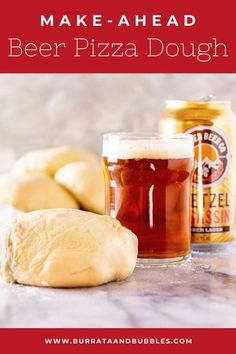 If you're looking for the best homemade pizza dough, you found it. This make ahead beer pizza dough is thin and crispy with the perfect chew, and the beer adds a level of depth to the flavor.  #makeaheadpizzadough#makeaheadpizzacrust #beerpizzadough#agedpizzadough #homemadepizzadough Pizza Recipes, Bread Recipes, Dessert Recipes, Cooking Recipes, Desserts, Dinner Iseas, Best Homemade Pizza, Best Bread Recipe, Fall Dinner Recipes