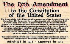 17th Amendment Right To Vote