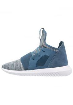 adidas Originals - TUBULAR DEFIANT - High-top trainers - blanch blu/white