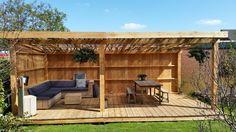 Backyard Pavilion, Backyard Gazebo, Hot Tub Gazebo, Small Backyard Patio, Backyard Sheds, Backyard Patio Designs, Outdoor Kitchen Patio, Outside Patio, Garden Sitting Areas