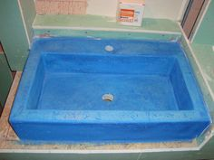 concrete sink by handmade-sa...
