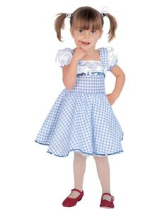 Dorothy Girls Toddler Costume