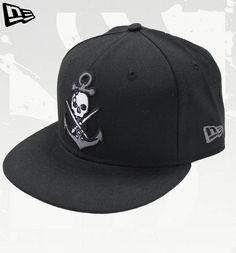 New Era BLACK GRAY ANCHOR Hat by Sullen Hats by Sullen  New Era 8148471eaa94