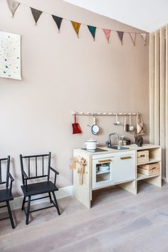 Project R   The Play Room - Avenue Lifestyle Avenue Lifestyle Playroom Design, Kids Room Design, Playroom Decor, Vintage Playroom, Kids Decor, Decor Ideas, Ikea Play Kitchen, Ideas Habitaciones, Little Girl Rooms