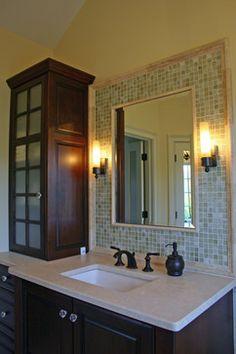 Mediterrean Modern Spa Master Bathroom - eclectic - bathroom - atlanta - Cynthia Karegeannes, Registered Architect