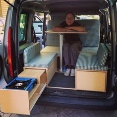 23 Minivan Camper Conversions to Inspire Your Build & Adventure 23 Minivan Camper Conversions to Inspire Your Build & AdventureIf you are camping enthusiast then you certainly know the importance of havin Auto Camping, Minivan Camping, Truck Camping, Motorhome, Peugeot Expert, Berlingo Camper, Minivan Camper Conversion, Kangoo Camper, Camping Hacks