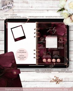 Now is the time to get your hands on the 18 month Digital Dated planner with yearly, monthly, weekly and daily spreads that include project, financial, goals, meal planning and paper style sections. The digital planners are dated from the 01 July 2020 and ends on 31 December 2021! Check out the Digital planner with stickers available in Burgundy and Emerald Green color schemes. Including 777 pages, over 3000 hyperlinks and 354 precept and pre-inserted digital stickers.   Link in the bio!… Spending Tracker, Green Color Schemes, Creating A Vision Board, Meal Planner, 18 Months, You Got This, Birthdays, Burgundy, Dating