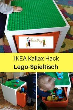 The IKEA Kallax series Storage furniture is a vital element of any home. They provide obtain and allow you to hold track. Elegant and delightfully easy the rack Kallax from Ikea , for example. Ikea Kallax Hack, Diy Kallax, Ikea Kids, Lego Duplo Games, Lego Duplo Table, Mesa Lego, Pokemon Lego, Uma Chance, Petites Tables
