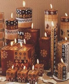 Beautiful candles.