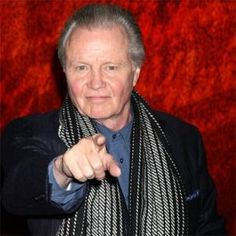Jon Voight - Acting or politics his passion is very evident.