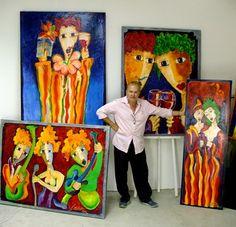 Artist Laurens Barnard (LAUBAR)... Artist, Painting, Beauty, Painting Art, Cosmetology, Paintings, Amen, Artists