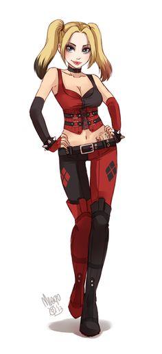Harley Quinn by `meago on deviantART