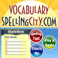 Great site to practice spelling words!