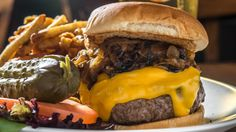 Dry-aged steak burger at Eats on Lex - #1 on Time Out's best burgers