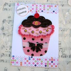 quilling cupcakes - Google Search