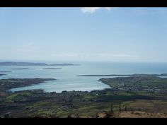 View over Schull from Mount Gabriel (Stack family land)