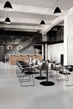 'Beyond New Nordic'... the #Gubi Design team have been busy working on the #interiors of recently opened #Amass restaurant in Copenhagen.