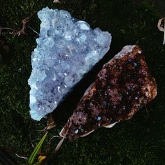my citrine and amethyst crystal