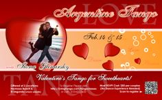 Valentine Tango for Sweethearts  http://southbaybyjackie.com/valentine-tango-for-sweethearts-february-14-15-2014/
