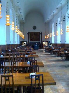 Upper School Dining Hall at Cranbrook-Kingswood
