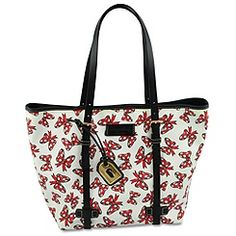 Minnie Mouse Bow Tote by Dooney & Bourke -- Medium -- White