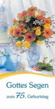 #Blumen # Geburtstagskarte #75 #LOGO