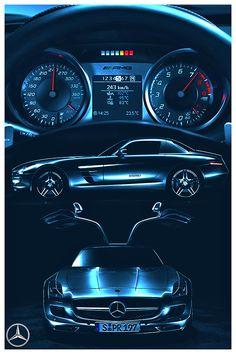 Mercedes-Benz - The SLS.