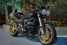Honda CBX Custom - The CBX is already a crazy bike...wow