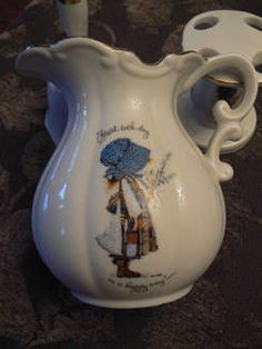 Holly Hobbie Pitcher