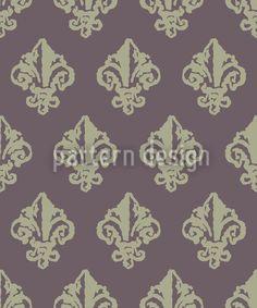 Lady De Winter Grey by Viktoryia Yakubouskaya available as a vector file on patterndesigns.com