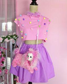 Working on stuff #pixielocks #partykei #puppysurprise #confetticlub #fashiondesign #LEARNING