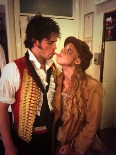 Enjolras and Eponine having a moment <3
