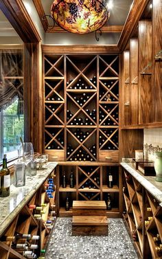 A home would not be complete without a generous wine cellar.