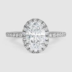 My dream ring❤❤❤  18K White Gold Waverly Diamond Ring (1/2 ct. tw.)