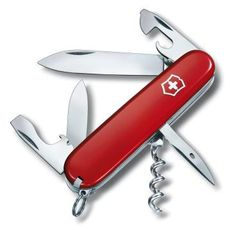 Victorinox Spartan Swiss Army Penknife. The Spartan is a 2 layer Swiss Army Knife with 12 functions. An excellent gift for Christmas.