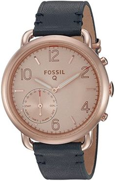 Fossil Q Tailor Gen 2 Hybrid Blue Leather Smartwatch ** Want to know more, click on the image.