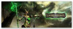 League of Legends Dual Monitor Wallpaper