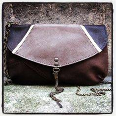 #bag #sac #pochette #matieresareflexion #leather #artdeco #brown #beige #paris