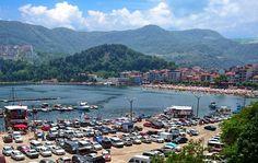 Amasra Büyük Liman Plajı ve Otopark...