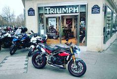 Triumph Speed Triple 2016 Paris !!! #speedtriple #speedtriple2016 #triumph #triumphmotorcycles #newspeedtriple