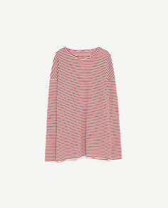 Image 5 of STRIPED LONG SLEEVE T-SHIRT from Zara